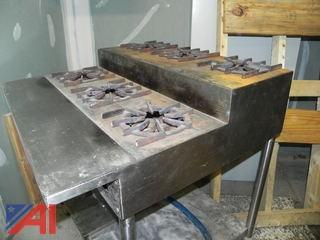 6 Griddle Gas Burner