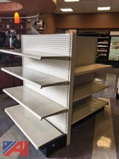 (3) Gondola Shelving Units