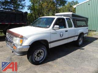 1995 Toyota T100 Pickup with Extended Cab
