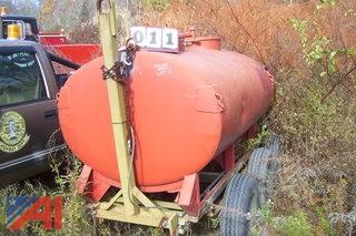 500 Gallon Water Tank