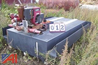 500 gallon PVC tank