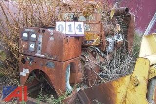 GM Diesel Back up Generator