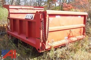 9' Steel Dump Body