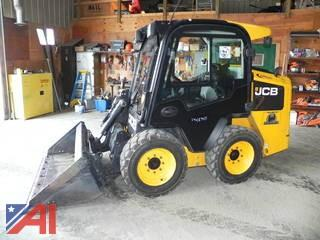 **4% BP** 2015 JCB 205 ECO Skid Steer with Bucket
