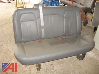 Chevy Van Rear Bench Seat