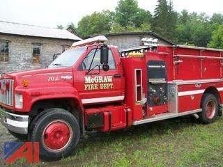 1992 GMC Top Kick Fire Truck