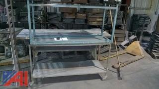 Metal Work Tables