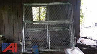 Steel Chain Link Fence/Cage