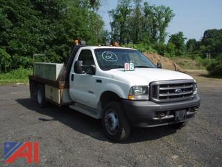 2003 Ford F450 Flat Bed/Utility Truck