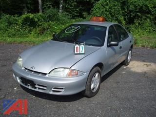 2001 Chevy Cavalier 4DSD