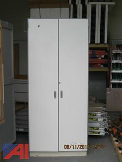 (4) Laminated Cabinets