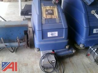 Blue Star Battery Powered Floor Scrubber