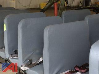 (6) School Bus Seats