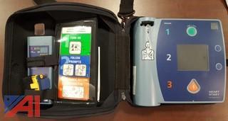 (2) Soft Case Defibrillators