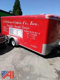 2000 Continental 7' x 16' Enclosed Trailer