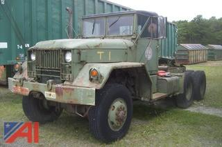**Lot Updated** 1967 Jeep M52A2 6x6 Cab & Chassis