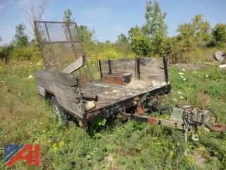 Military Single Axle Trailer