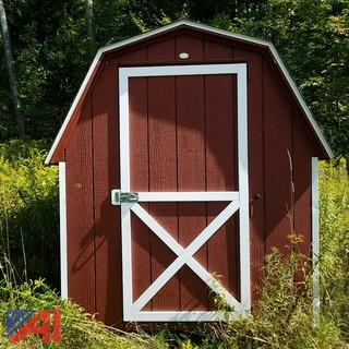 **Lot Updated** Wooden Storage Shed