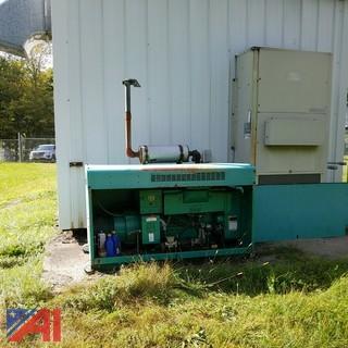 Onan 15JC L  15kw  Propane Generator