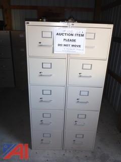 (2) Corcraft File Cabinets
