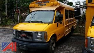 2002 GMC Savana School Bus