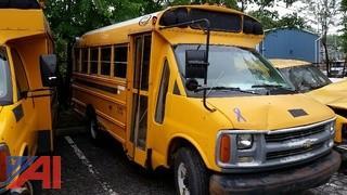 2000 Chevrolet Express School Bus