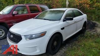 2013 Ford Taurus 4DSD-Police