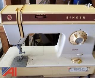 (17) Assorted Sewing Machines