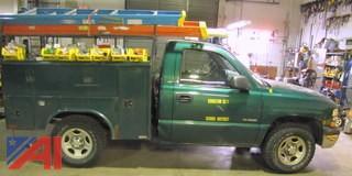 2000 Chevy Silverado 1500 Utility Truck