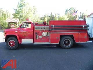 1980 Chevy Pumper Truck
