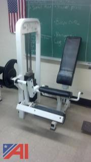 "Paramount ""Leg Extension"" Weight Machine"
