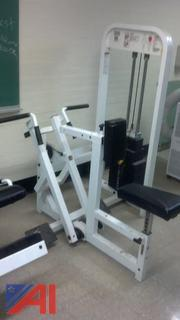 "Paramount ""Seated Row"" Weight Machine"