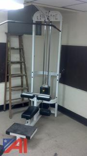 "Paramount ""Lateral Pull"" Weight Machine"