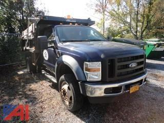 2010 Ford F-450 XL Super Duty Dump Truck
