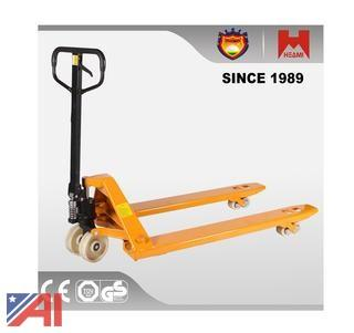 Standard Sized Pallet Jack With Manual Operation