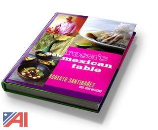 "(14) ""Rosa's New Mexican Table"" Hardcover Cookbooks by Roberto Santibanez"