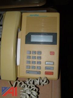 Lot of Desk Phones, Wall Phones
