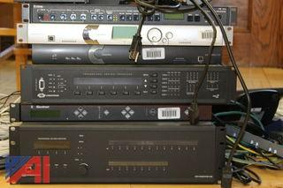 Lot of Distance Learning Room Equipment and MAC Server
