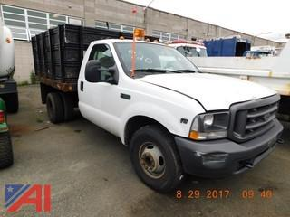 2004 Ford F350 Pickup with Dump