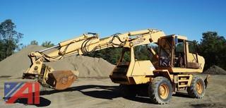 1991 Case 1085C Extendahoe Boom 4WD Wheel Excavator