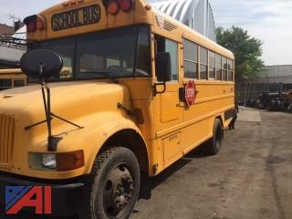 2003 AM/TR School Bus with Wheel Chair Lift