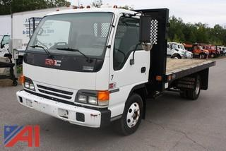 1992 GMC W4000 Stake Bed Truck
