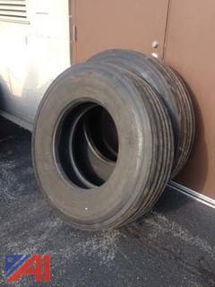 (2) Steer Tires