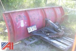 10' Good Roads Reversible Plow