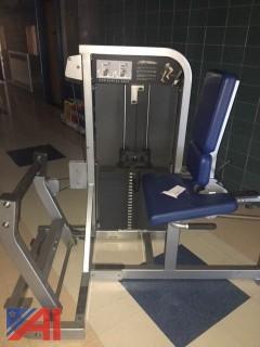Life Fitness Horizontal Calf Machine