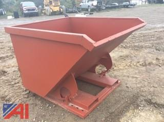 NEW 2 Yard Self Dumping Hopper