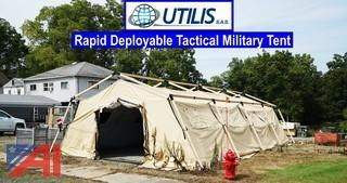 Utilis TM60 19' x 34' Rapid Deployment Tactical Military Shelter/Tent