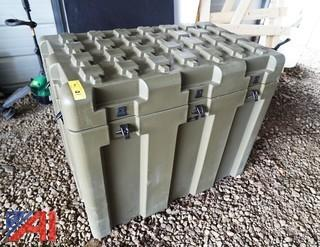 11) New Loadmaster® Footlocker Stackable Shipping/Storage Containers