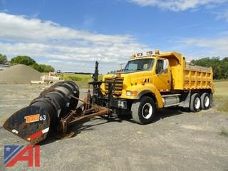 2001 Sterling 6x4 LT9511 Dump Truck with Plow