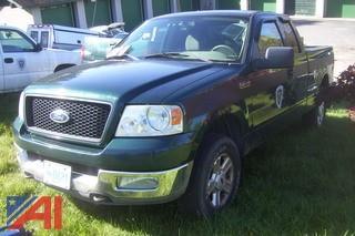2004 Ford F150 4x4 Pickup